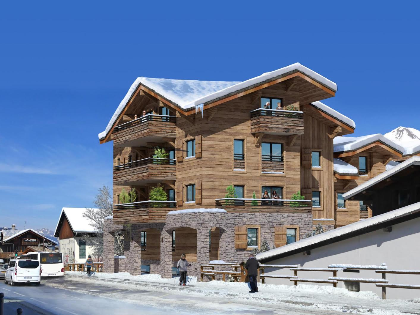 Prime New Build Apartments in Morzine - Morzine Immobilier