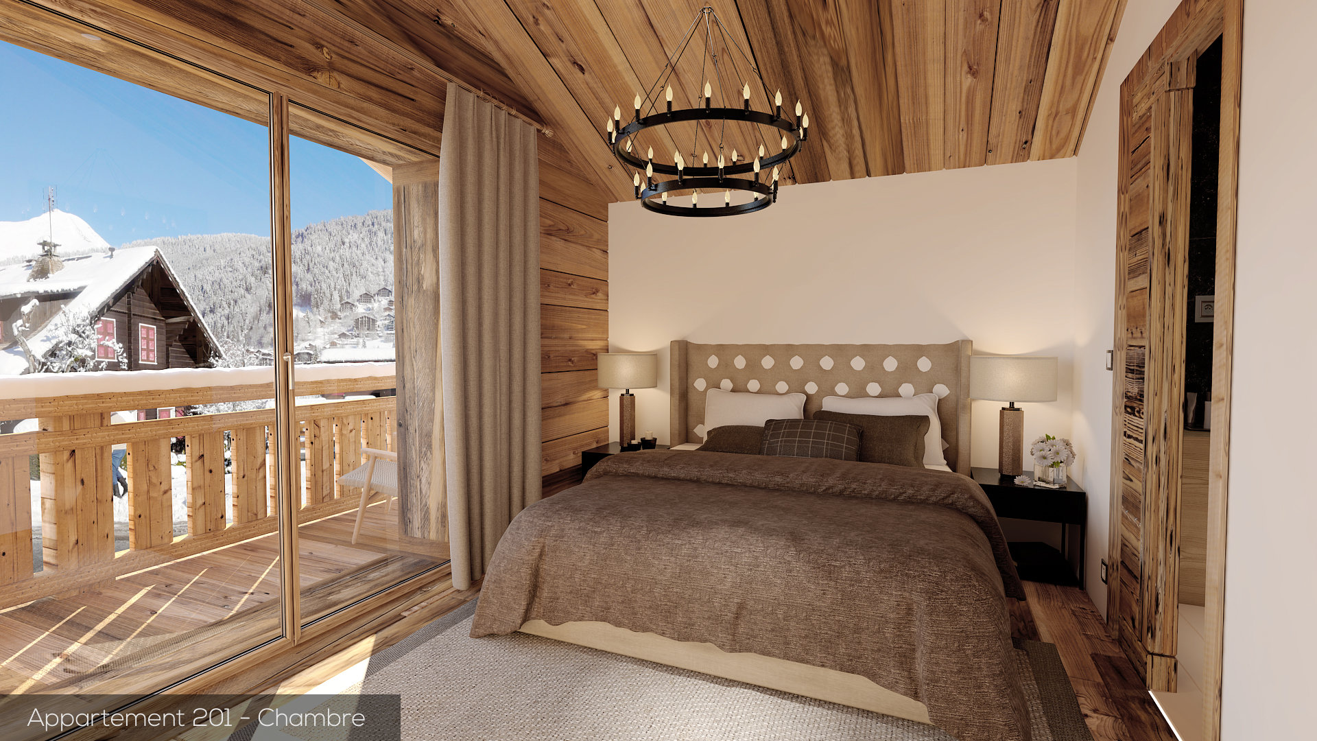 New built 2 bedroom apartment, MORZINE - Morzine Immobilier