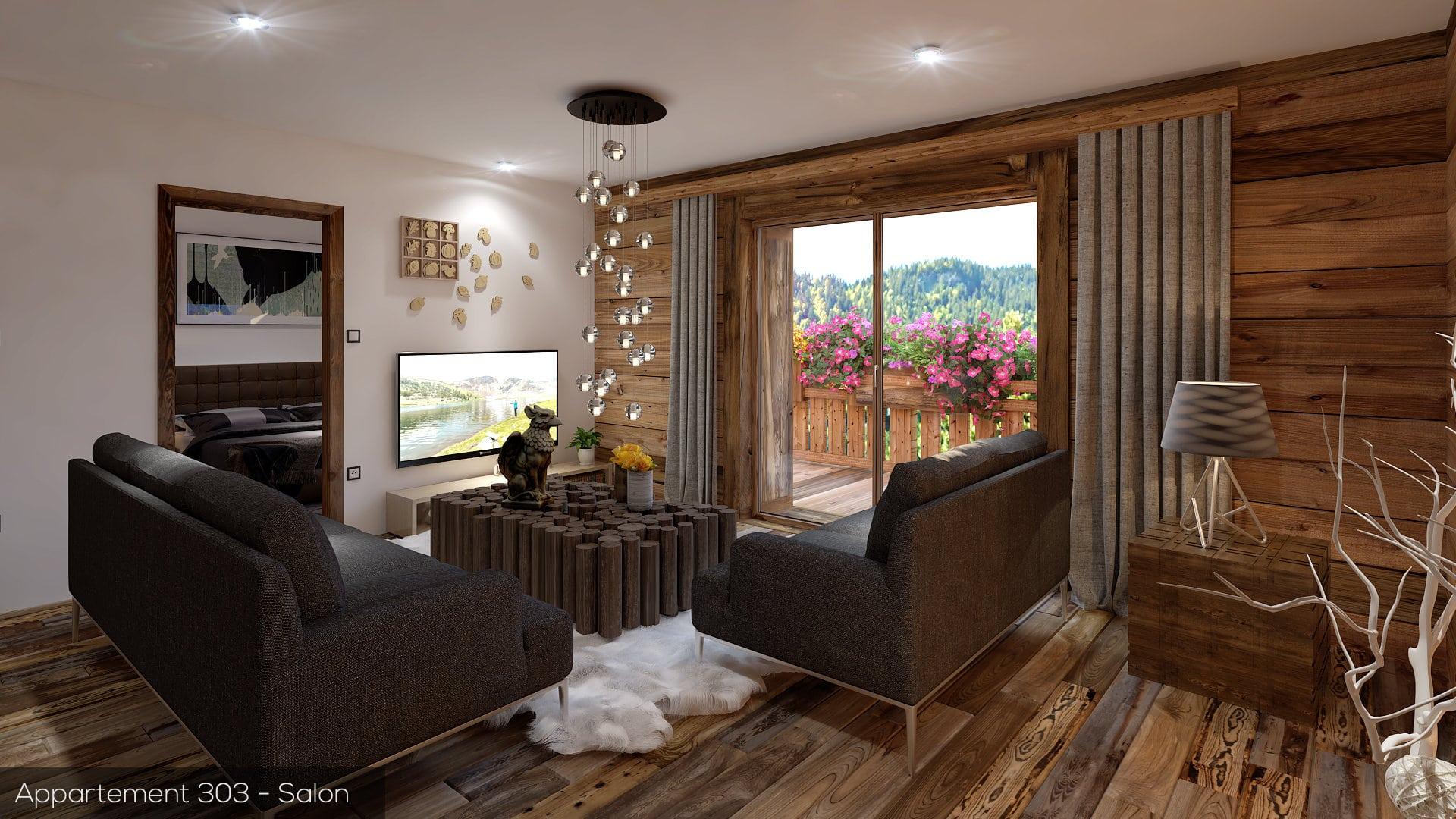 New built 2 bedroom apartment, MORZINE - Morzine Immobilier